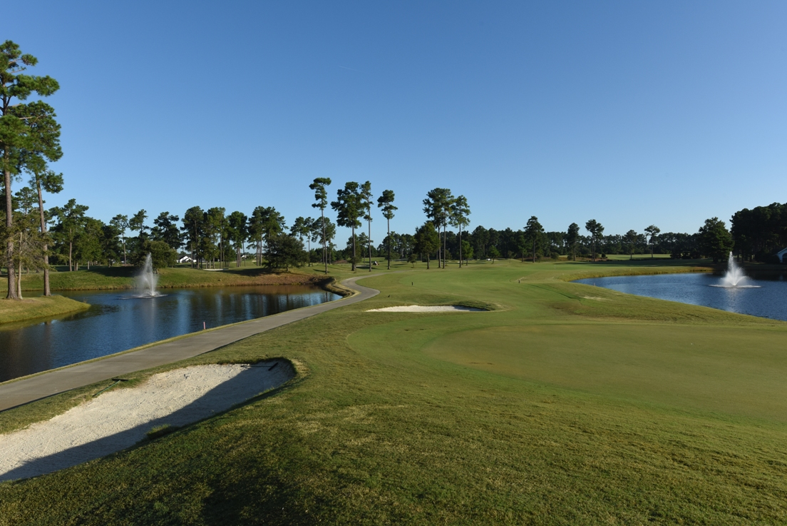 Golfers play a different Myrtle Beach area golf course each day and ...