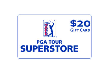 $20 PGA TOUR Superstore Gift Card
