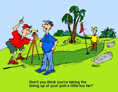 Image result for golf slow play cartoons