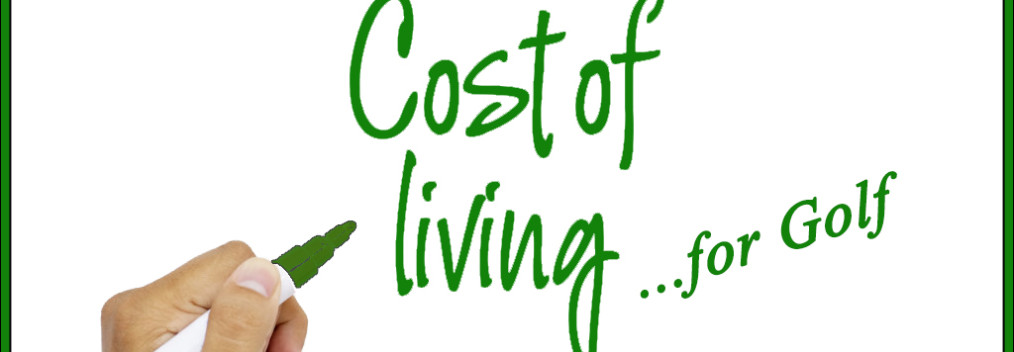 golf cost of living