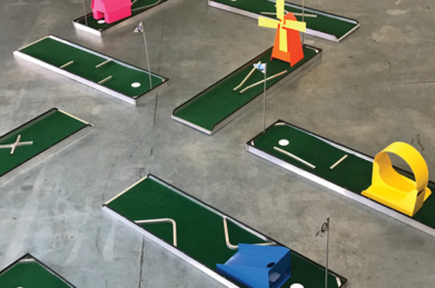 Nine Hole Putt Putt Course