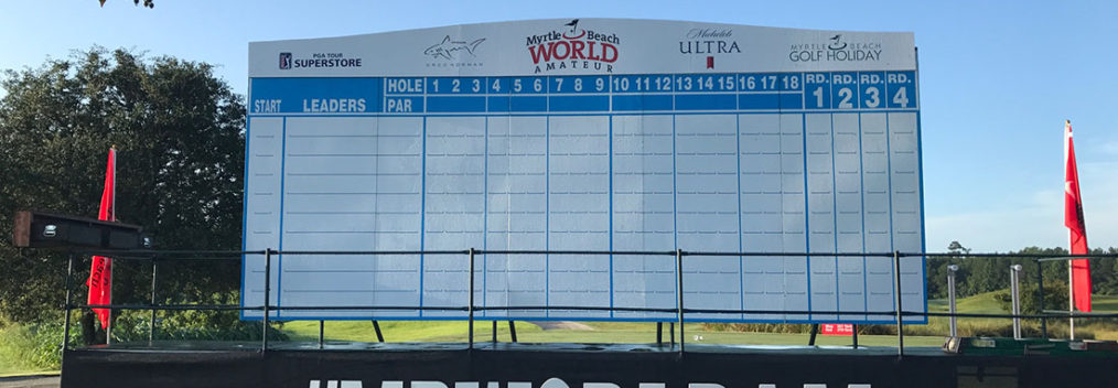 World Am Championship Round Scoreboard