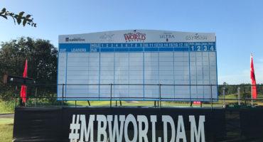 World Am Championship Round Scoreboard