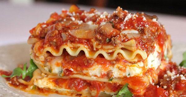 Angelo's Lasagna