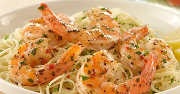 Angelo's Shrimp Scampi