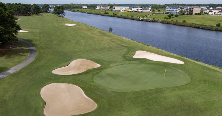 myrtlewood golf course 18