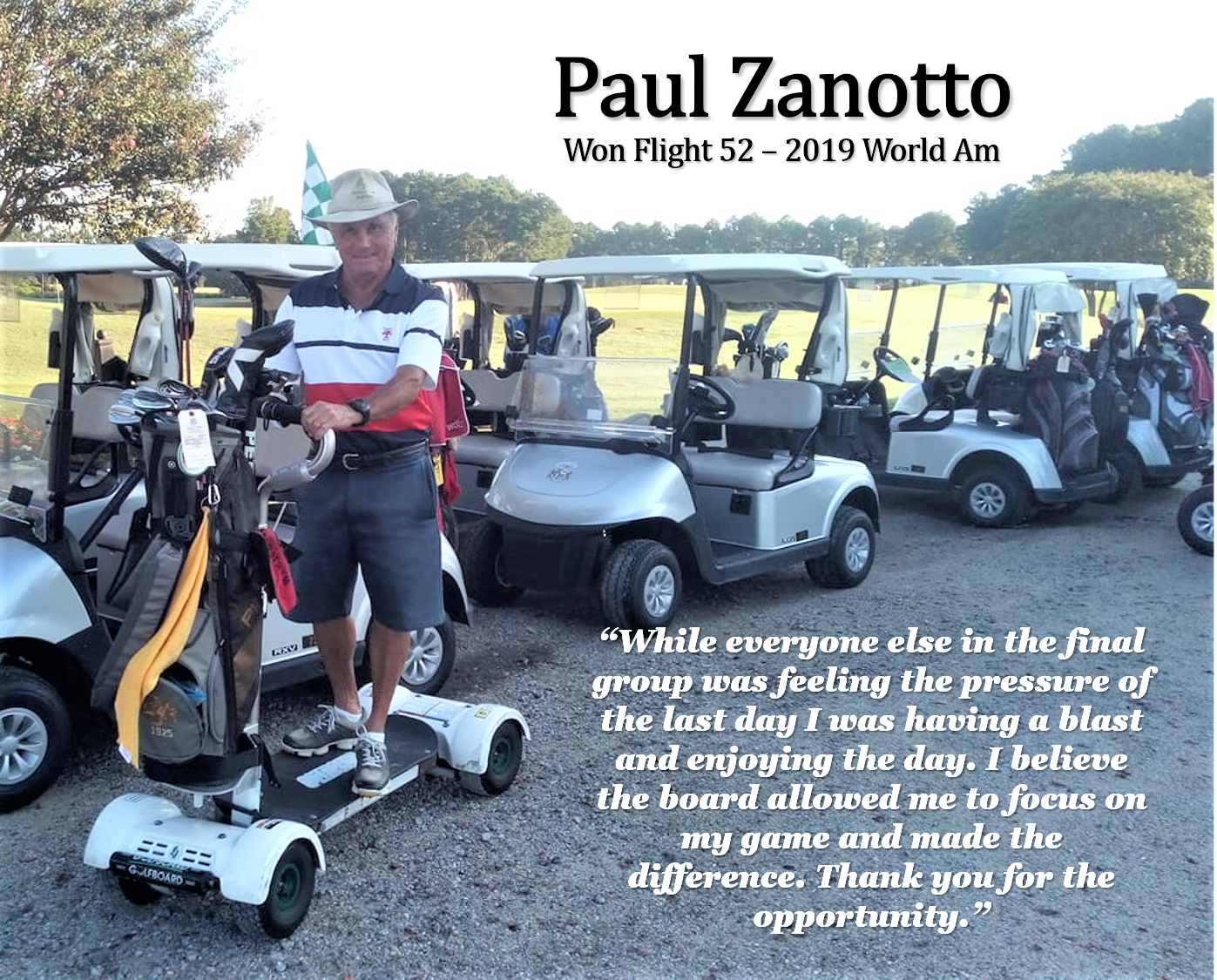 Paul Zanotto Place Card - Modified Brightened