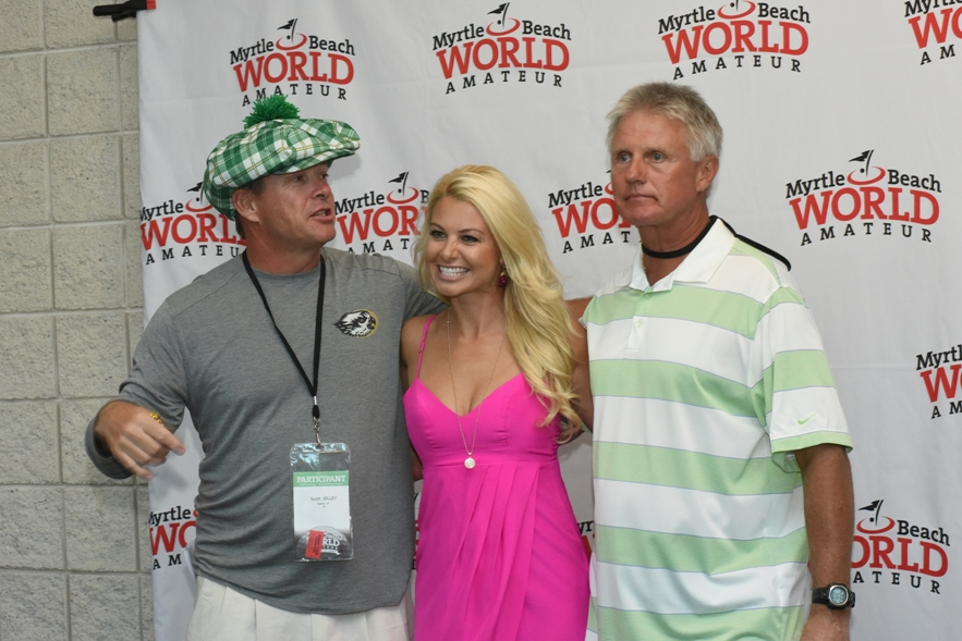 myrtle beach world am participants with win mcmurray